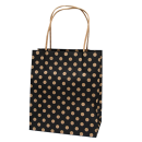 Black Spot Kraft Toddler Paper Bag