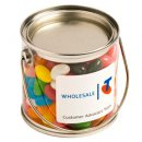 Small PVC Bucket Filled with Jelly Beans 2x 50g
