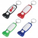Thin LED Light Keyring