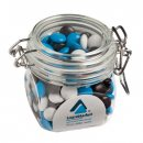 Choc Beans In Small Canister 200g Corporate Colours