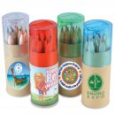 Coloured Pencils in Cardboard Tube (Stock)