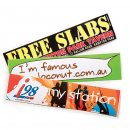 Large Custom Bumper Sticker