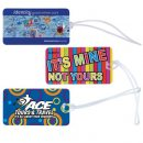 Monte Carlo Luggage Tag with Loop (Indent)