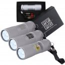 The Tube Silver Aluminium LED Torch (Stock)