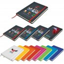 Venture A5 PU Notebook with Elastic Closure (Stock)