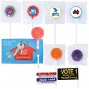 Assorted Logo Lollipops