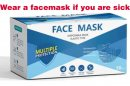 Disposable Face Mask – Elastic Band