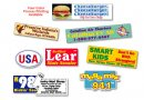 Full Colour Outdoor Sticker 50x90mm