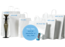 White Paper Bag with Twist Handle