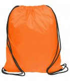 Orange Nylon Backsacks