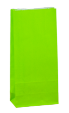Loud Lime Coloured Gift Paper Bag