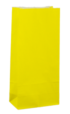 Sunny Yellow Coloured Gift Paper Bag