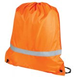 Orange Premium Reflective Back Sack