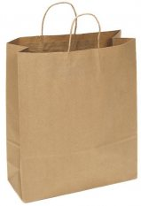 Kraft Paper Bag Extra Large Includes Twisted Paper Handle