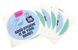 COVID-19 Tacky Cling Stickers for mirrors