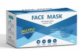 01. Disposable Face Mask – Elastic Band