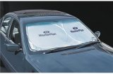 Dash-Mate Sunshade, Silver in Use