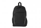 Black 600D Poly Sports Backpack