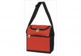 Red Double Compartment Cooler