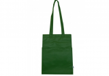 Green Insulated Hot/Cold Cooler Tote - Medium Hook & Loop closur