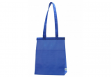Blue Insulated Hot/Cold Cooler Tote - Medium Hook & Loop closure