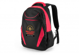 Black/Red Happy Spider Backpack
