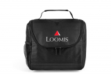 Black Center Divider Lunch Bag