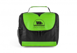Lime/Black Center Divider Lunch Bag