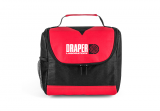 Black/Red Center Divider Lunch Bag