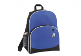 Blue 600D Poly New Backpack