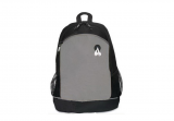Gray 600D Poly Celebration School Backpack