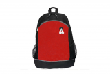 Red 600D Poly Celebration School Backpack