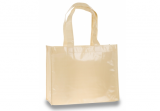 Natural Laminated Tote