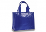 Blue Laminated Tote
