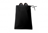 Black Drawstring Shoe Bag