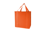 Orange Zefa Tote Bag