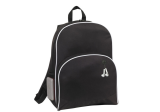 Black 600D Poly New Backpack