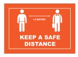 Keep a safe Distance