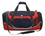 Navy/Red/White/Charcoal Atlantis Sports Bag Embroidered