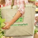 Natural Market Tote Bag