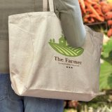 Natural Galleria Cotton Tote Bag
