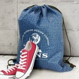 Tampa Heather Drawstring Backpack