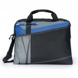 Black/Royal Delegate Satchel