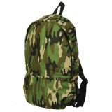Camouflage Green Chino Backpack