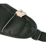 Black Solid Running Waist Pack - Black Solid