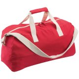 Red/White Beswick Sports Bag