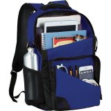 Blue Sideways Rush 15 inch Computer Backpack