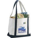 Blue Front Premium Heavy Weight Cotton Boat Tote