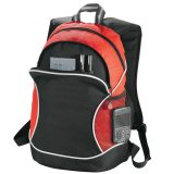Red ideways Boomerang Backpack
