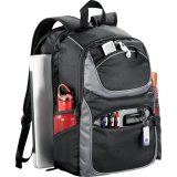 Side Pockets Continental Checkpoint-Friendly Compu-Backpack